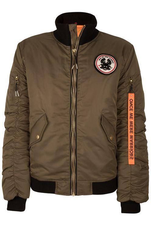 Hotaka Bomber Jacket Khaki