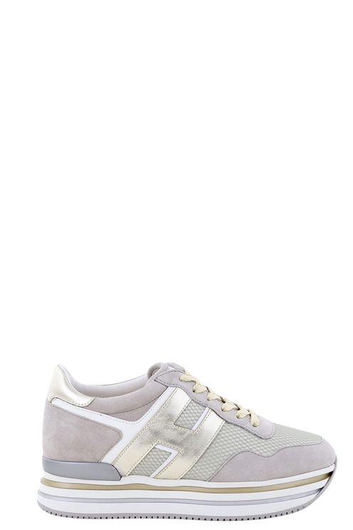 Sneakers Midi Platform HXWCB Grijs