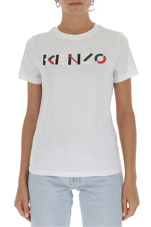 Women's White Cotton T-shirt