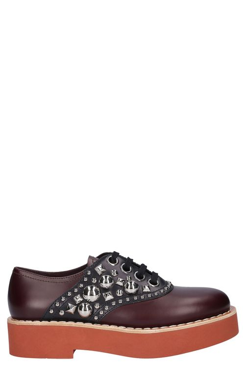 Women Lace Up Shoes - Elton