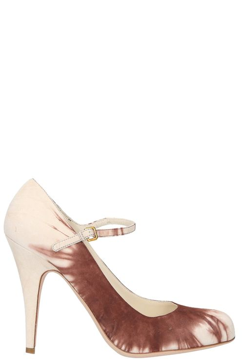 Women Heeled Pumps Suede - GOODIES