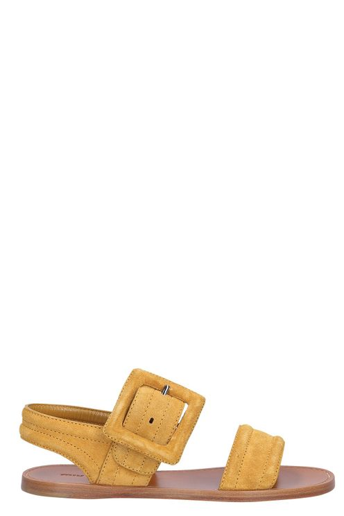 Women Sandals Suede - Bresaola
