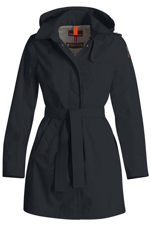 Avery Trench Blue Black