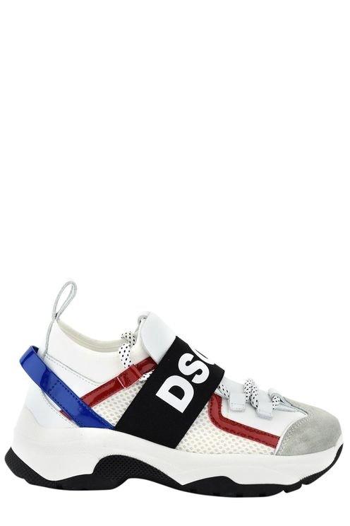 D-bumpy One Sneakers Lace Up White/