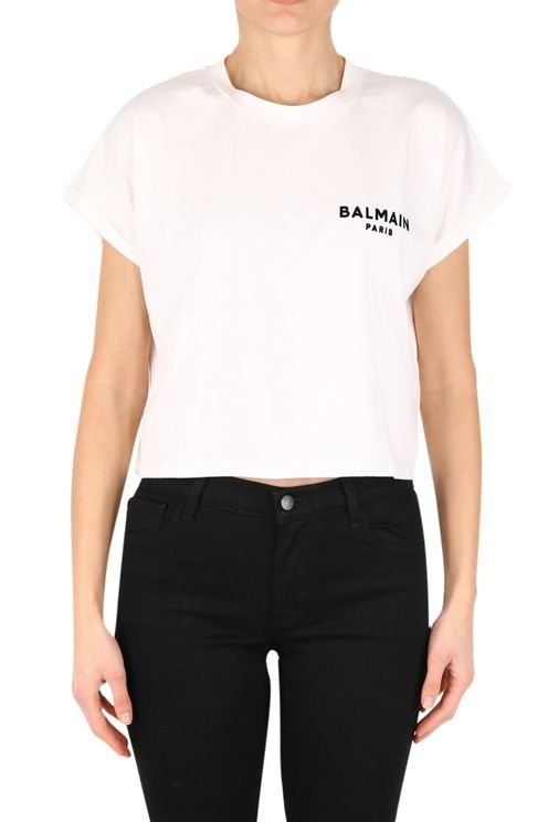 Cropped top white