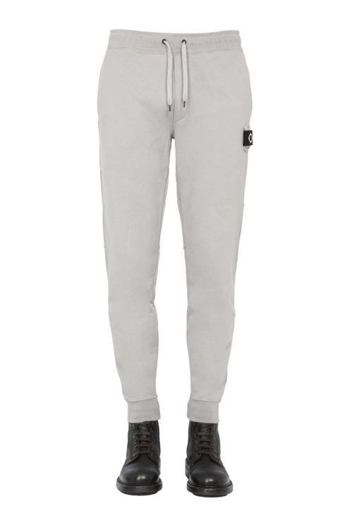 Men's Grey Cotton Joggers