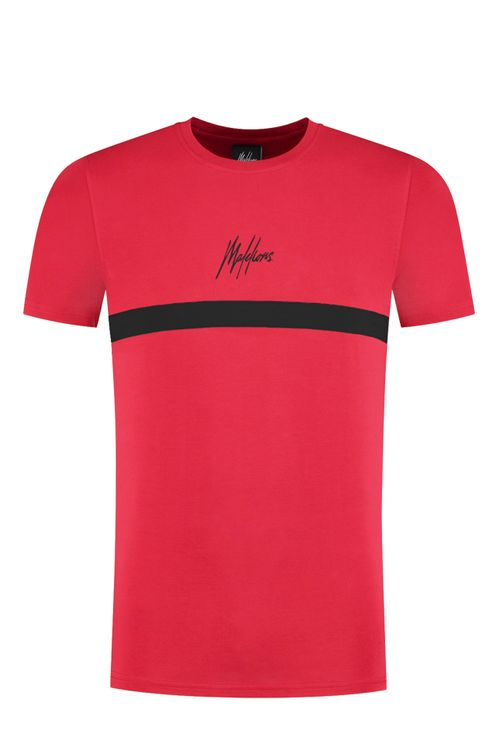 Junior T-shirt Tonny - Red/Black