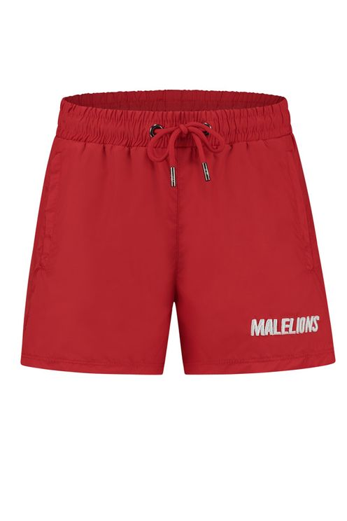Junior Swimshort Nium - Red/White