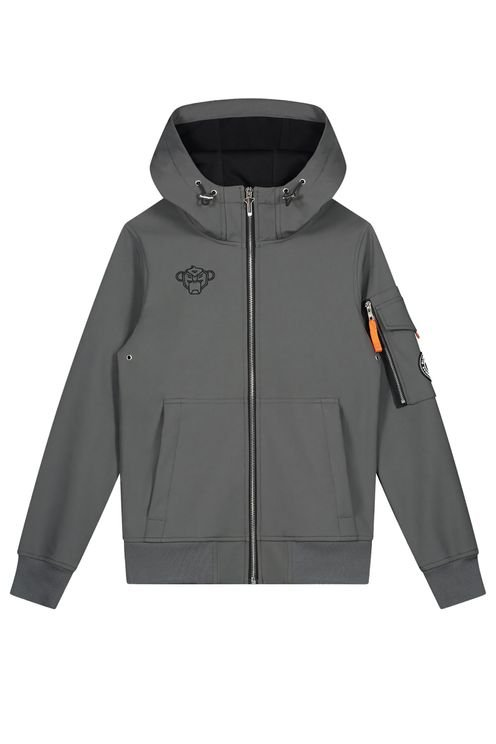Jr Softshell Jacket Grey