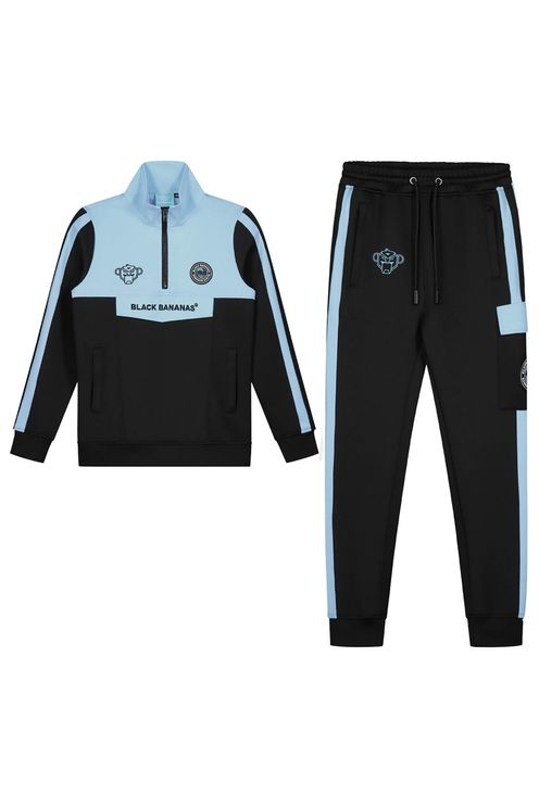 Jr Sprint Tracksuit Light Blue