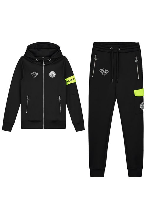Jr Command Tracksuit Black