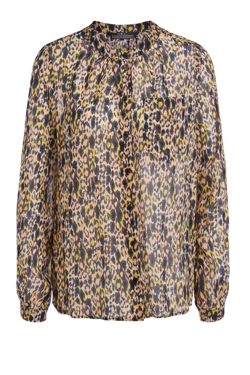 Zwarte Multicolour Blouse