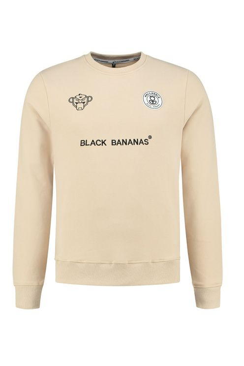 Black Bananas F.C. Crewneck KIDS Sand