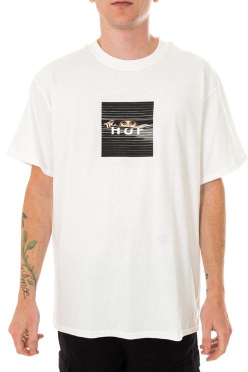 T-shirt Uomo Huf Voyeur Logo S/s Tee Ts01175