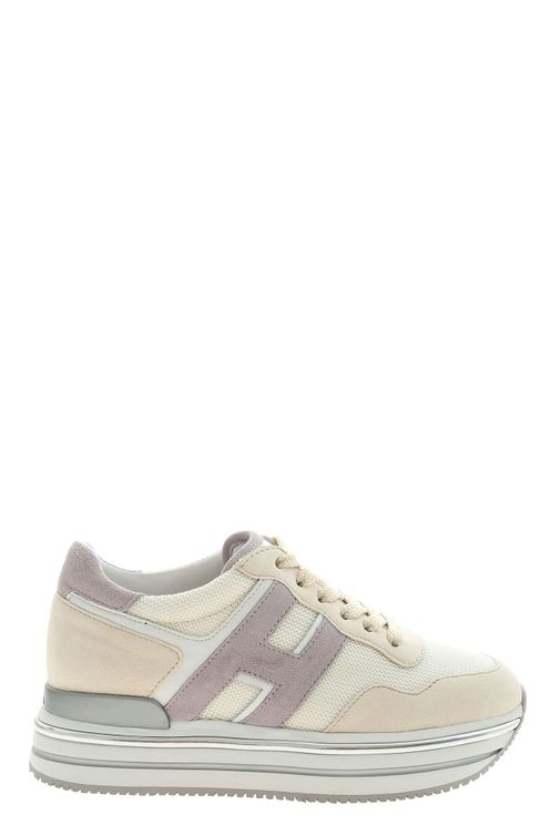Sneakers h468 beige e bianco