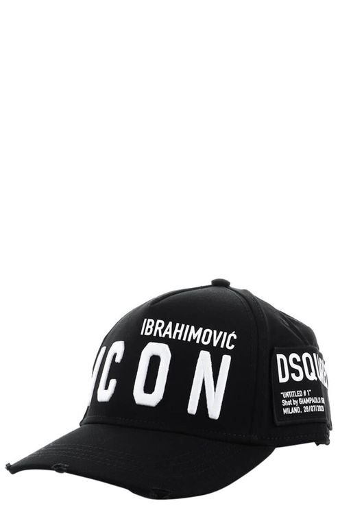 Icon Ibrahimovicx Black Baseball Cap Black