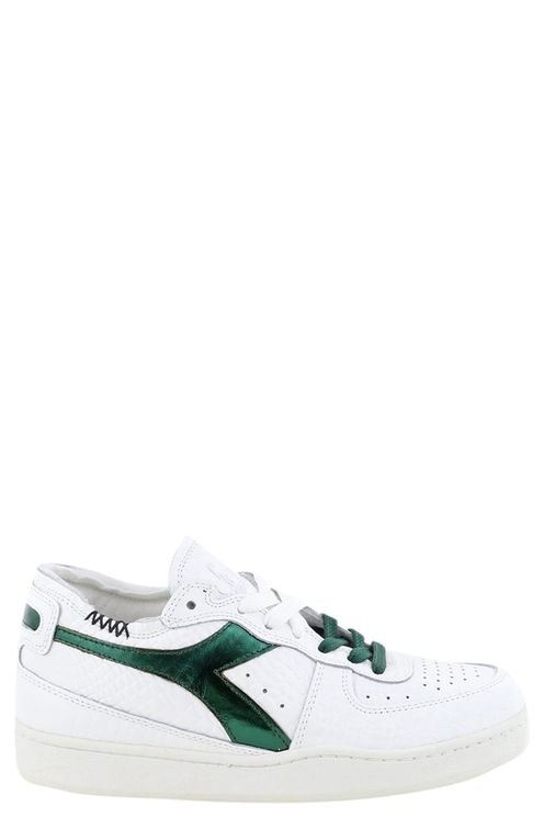 Sneakers Mi Basket Row Cut . Wit/groen