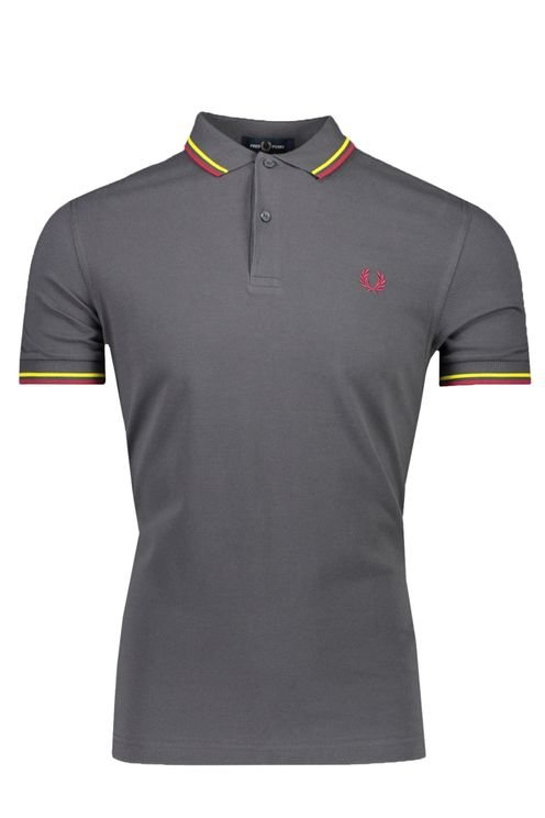 Fred Perry Polo Grijs
