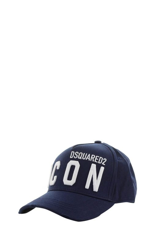 Icon Navy Blue White Baseball Cap Blue