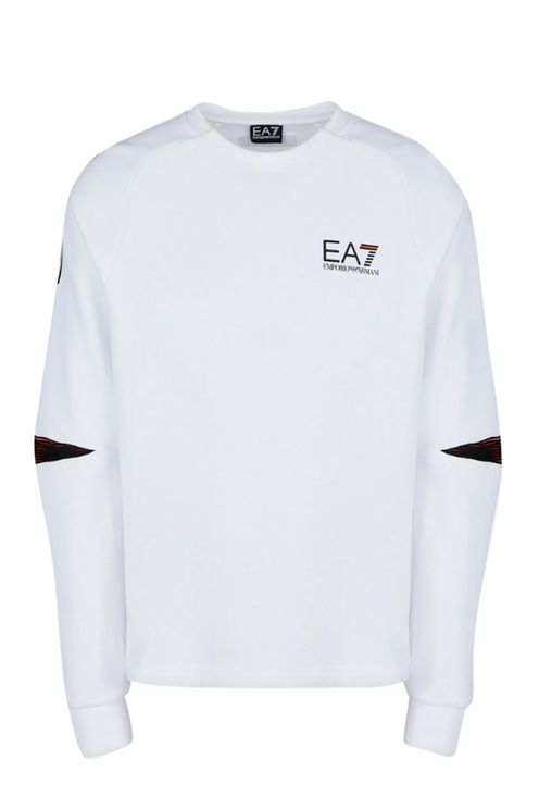 EA7 Sweaters White White