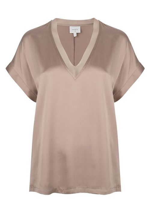 Dames Top Dante 6 Taupe