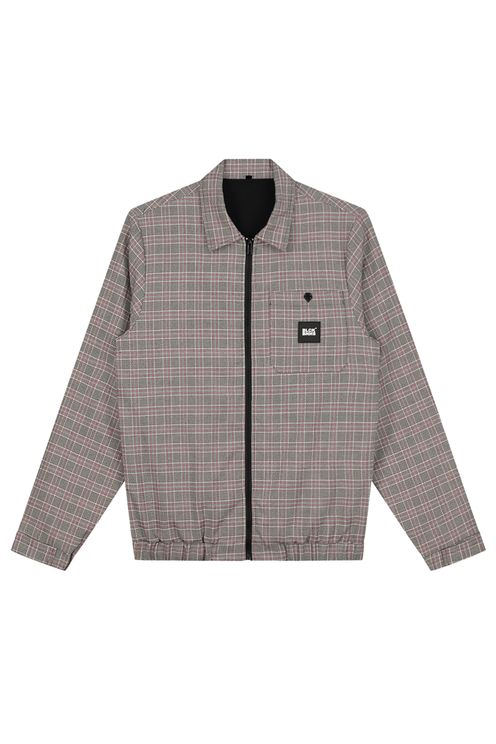Chicago Checked Jacket Sand