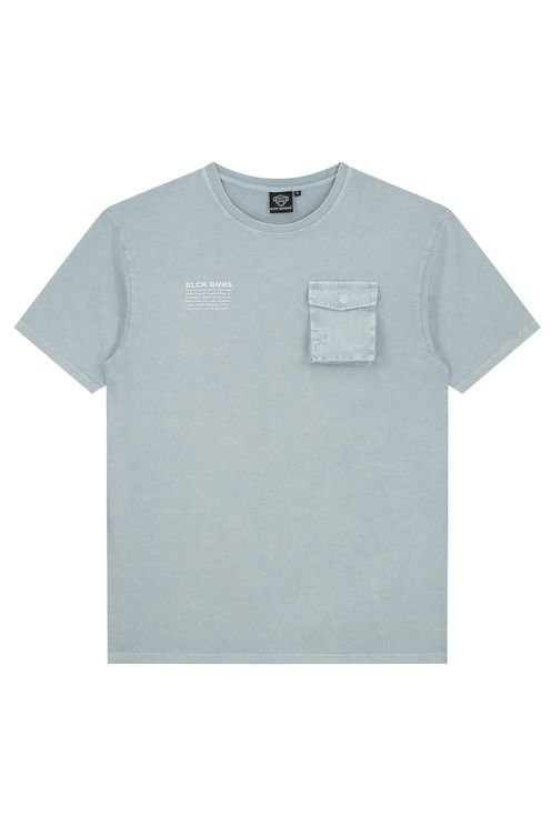 Washed Tee Blue