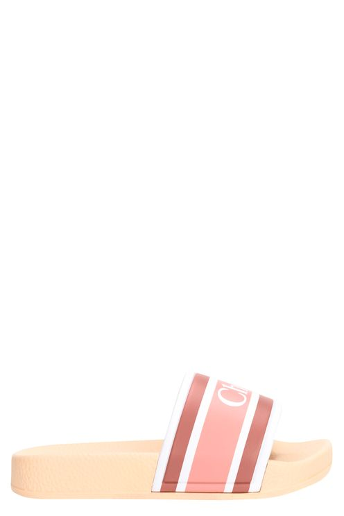 logo badslipper roze