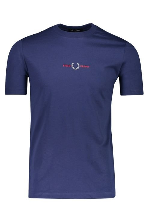 Fred Perry T-shirt Blauw