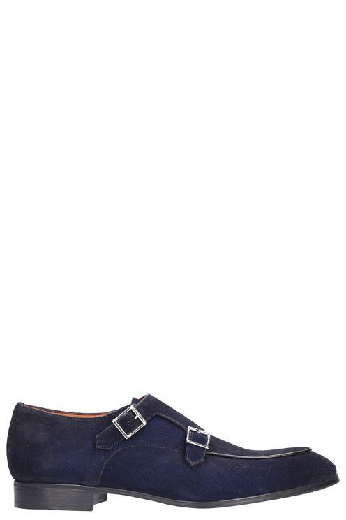 Flat Shoes Blue Pontiac