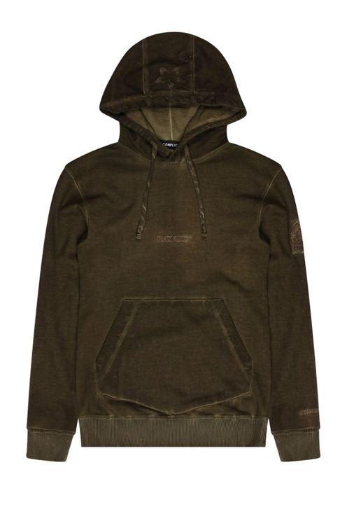 Dye Hoodie Essentials Army