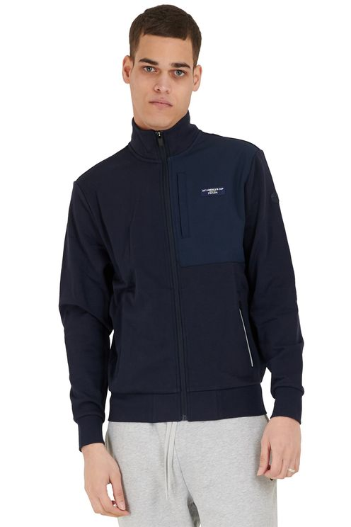 Muriwai Full Zip Navy Blue