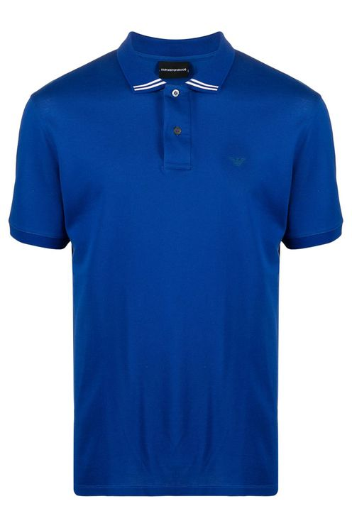 Emporio Armani T-shirts and Polos Blue