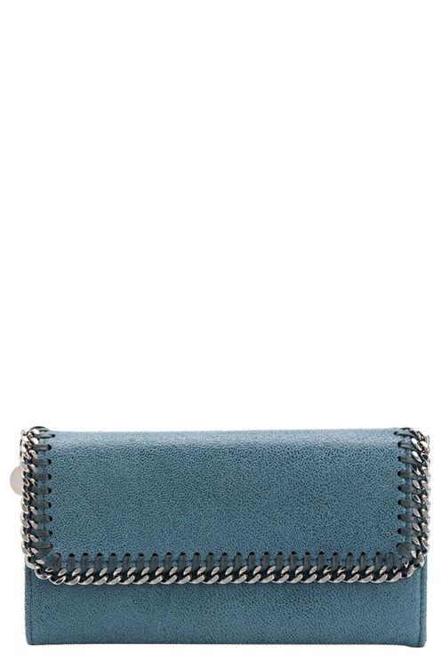 Stella McCartney Wallets Clear Blue