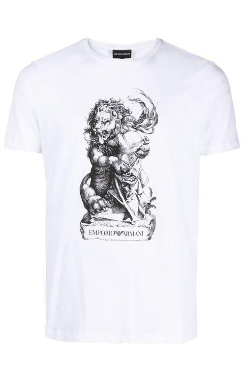 Emporio Armani T-shirts and Polos White