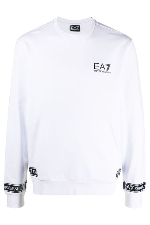 EA7 Sweaters White