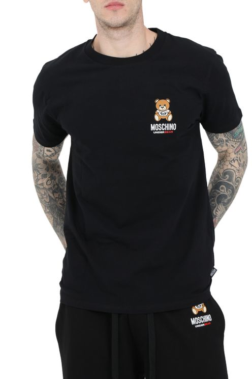 Moschino T-shirts and Polos Black
