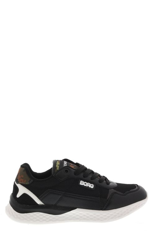 Veterschoenen & Klitteband R Sneaker Zwart