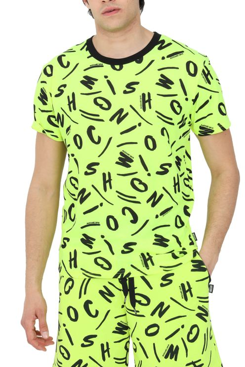 Moschino T-shirts and Polos Yellow