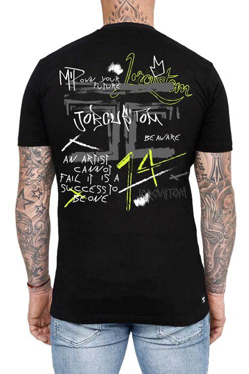 Artist Slim Fit T-Shirt Black