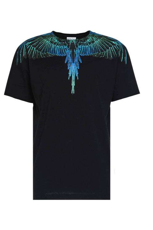 T-shirt Wings Regular Black