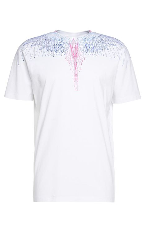 T-shirt Wings Bezier White