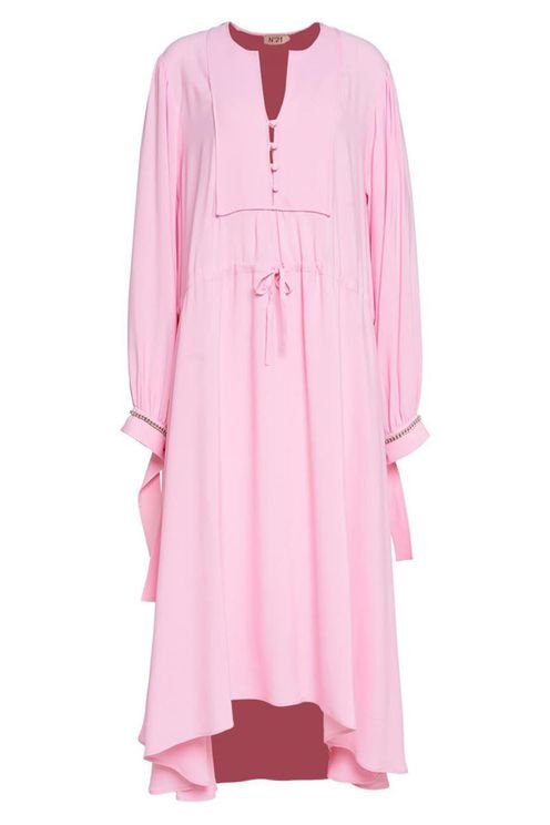 Mididress With Coulisse Pink