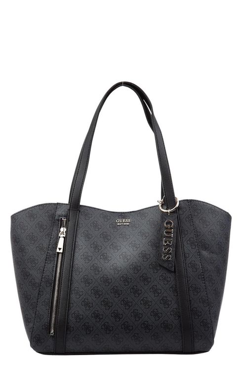 Shoulder bag with logo print Naya