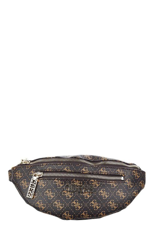 Fanny pack with logo details Manhattan Mini