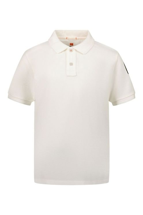 Kinder Polo Off White