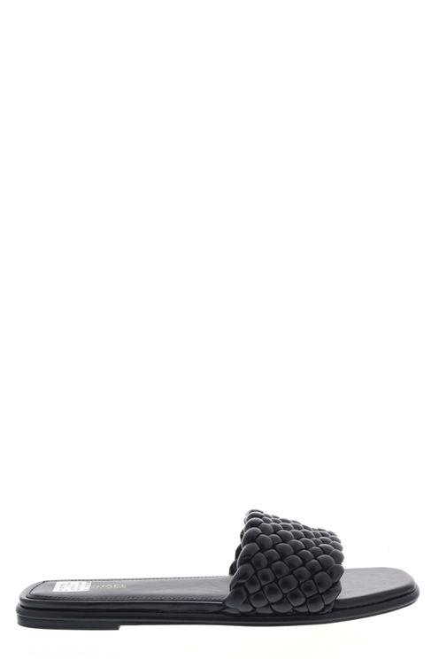 Slippers Amelia Flat Sandal Zwart
