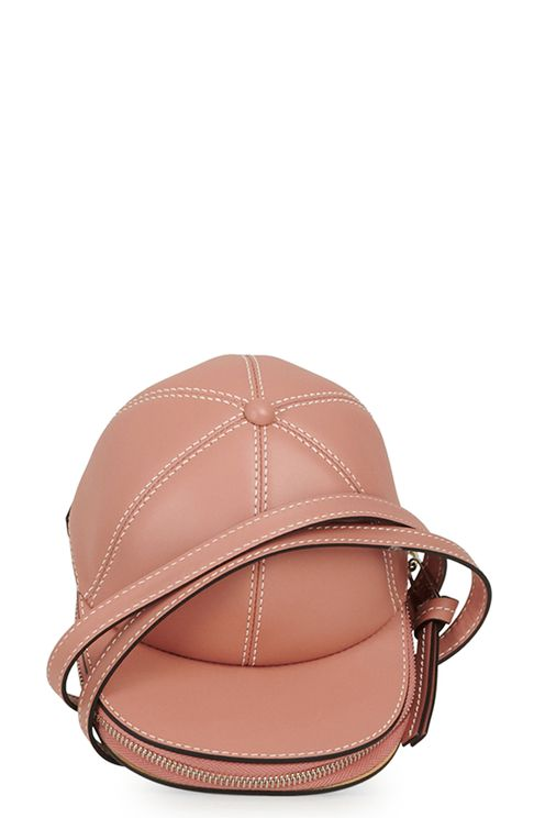 cap-shaped crossbody bag