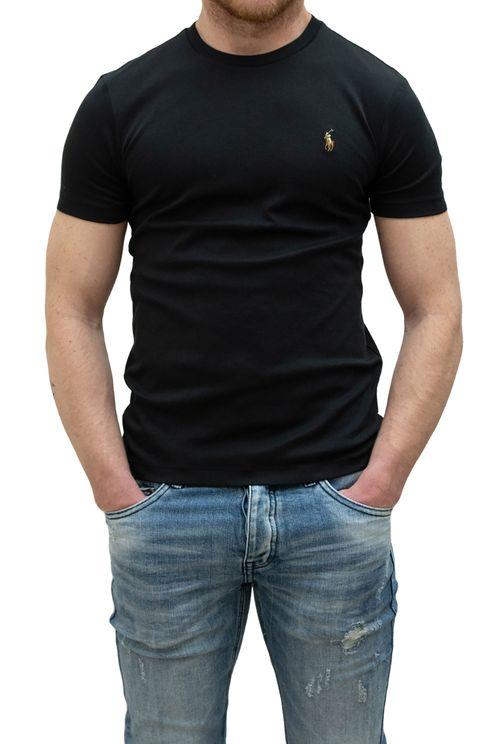 T-shirt K/M Zwart