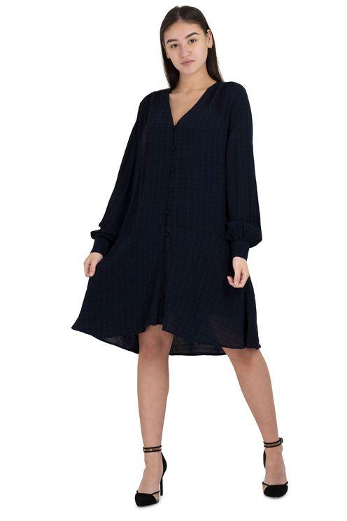 Mini jurk blauw